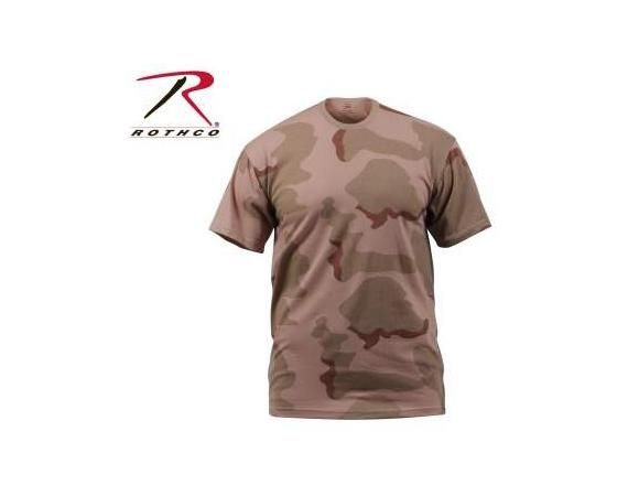 3 Color Desert Camo T-Shirt   Vermont's Barre Army Navy Store