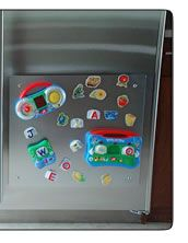 See comments--great ideas for using magnets with stainless appliances