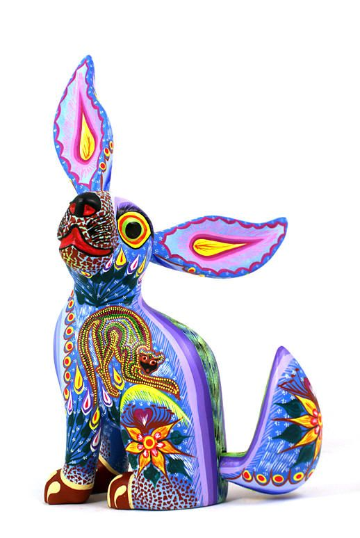 Alebrije - (Imaginary animals) Mexican handcraft invented by Pedro Linares López in 1936
