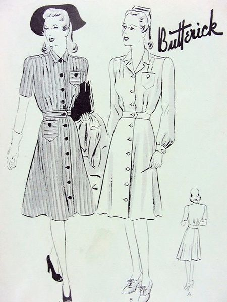 Nursing Uniform Pattern 30