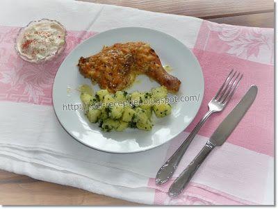 Gizi-receptjei. Várok mindenkit.: Hétvégi receptajánló!!! Tejben-vajban sütött csirkecombok.