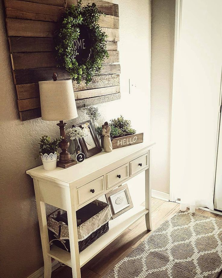 25 Editorial Worthy Entry Table Ideas Designed With Every: Best 20+ Rustic Entryway Ideas On Pinterest