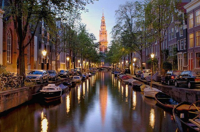 Amsterdam, the Canals. Amsterdam is in my top 10 fave cities