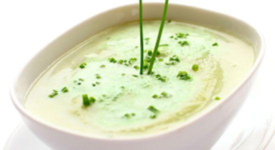 Healthy Lunch Recipes: Cauliflower & Parmesan Soup. #HealthyRecipes #DietRecipes #WeightlossRecipes weightloss.com.au