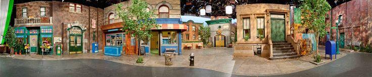 Sesame Street studio set