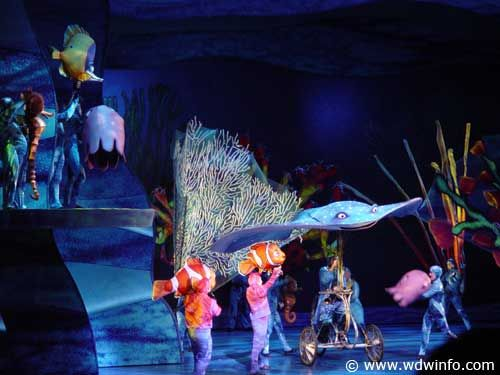 Finding Nemo - The Musical, Disney's Animal Kingdom