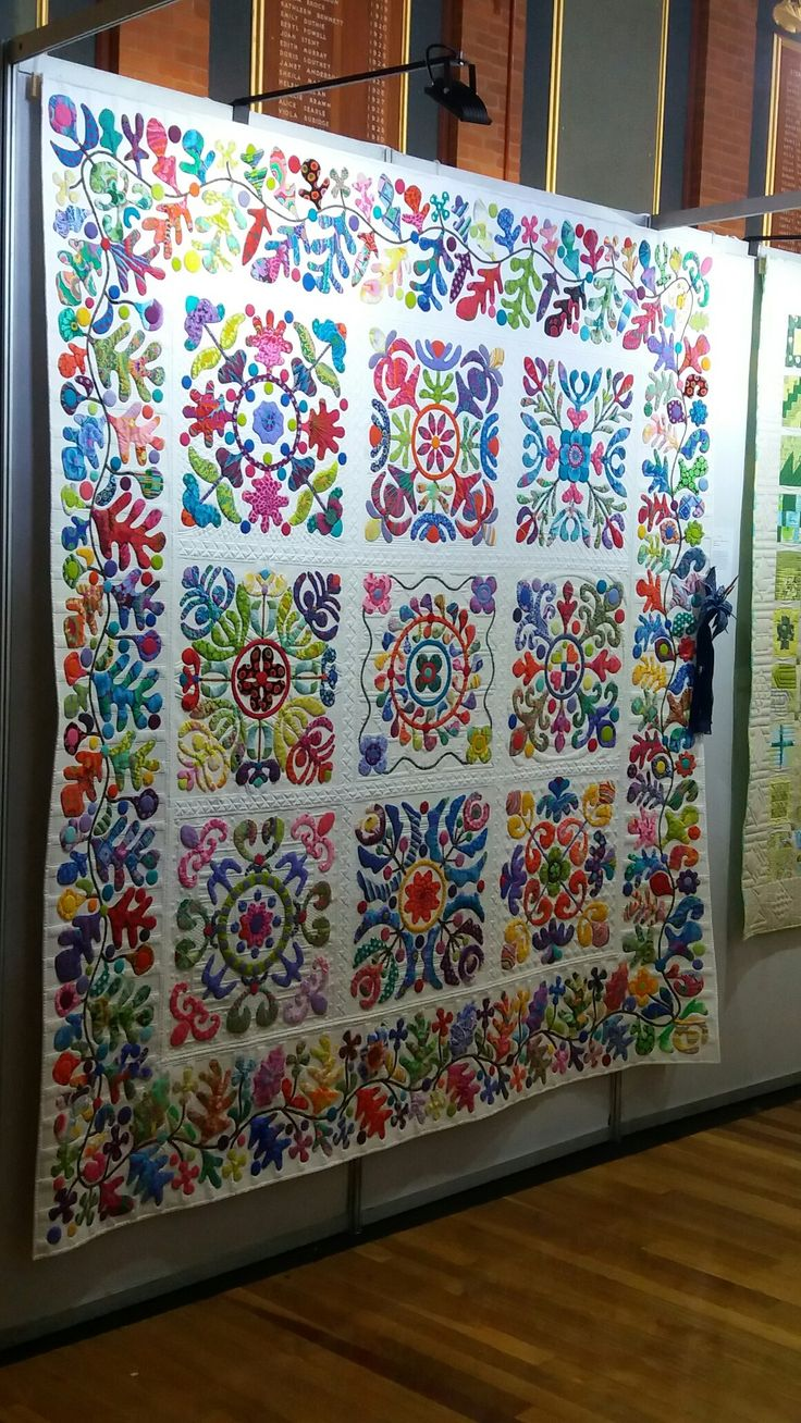 Original pattern by Kim McLean...I made some changes and won 1st Prize in the Open Catagory at the SAQG National Quilt Festival held in PE July 2017