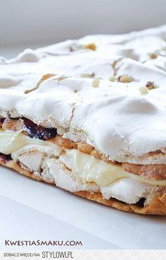 placki (ciasto kruche): • 2 pełne szklanki mąki • 1 łyż… na Stylowi.pl