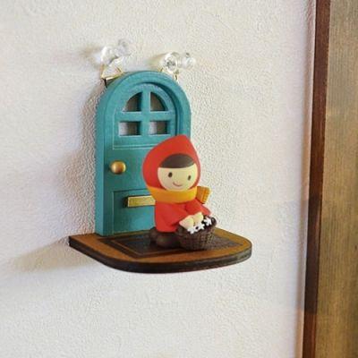 온리샵 : 데꼴 벽걸이 디스플레이 - 현관문  /  일본 인테리어 장식 소품, 미니어쳐 꾸미기 선물