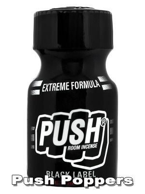 Push - Black Label comes with an extremely strong formular and ultra fast release. Ideal for the little, but hefty Push between. Small 10ml bottle.
