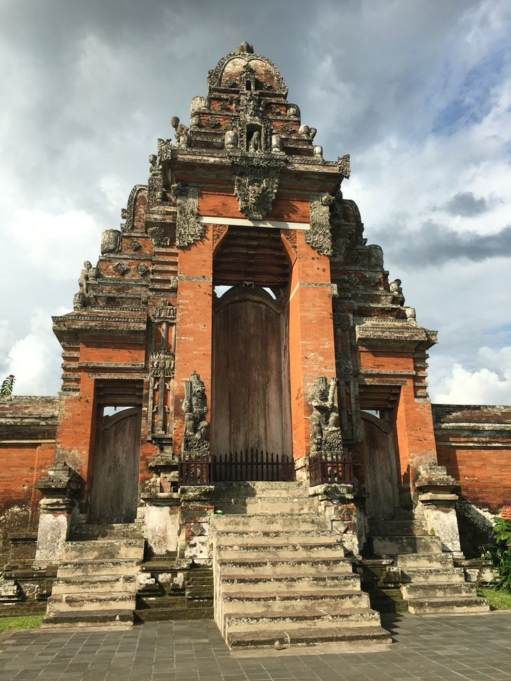 Temples in Bali.