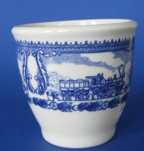 Baltimore And Ohio Railroad China   Baltimore and Ohio B O Railroad China Egg Cup Shenango   eBay