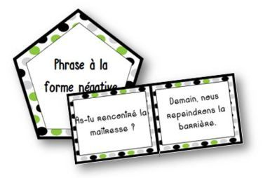 Jungle Type et Forme de phrases