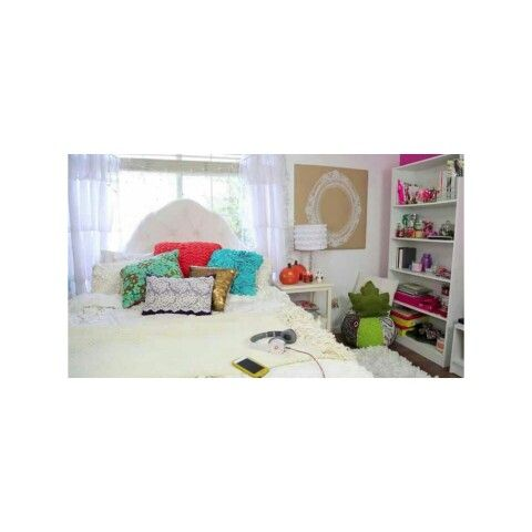 DIY TUMBLR ROOM (BETHANY MOTA INSPIRED): 1.) The bedding, Just get a bedding like this one and apply and throw pillows 2.)then create your own style just if you want it to look like this one then do it.
