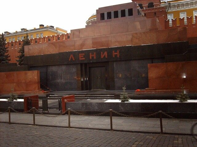 Lenin Mausoleum, Red Square, Moscow