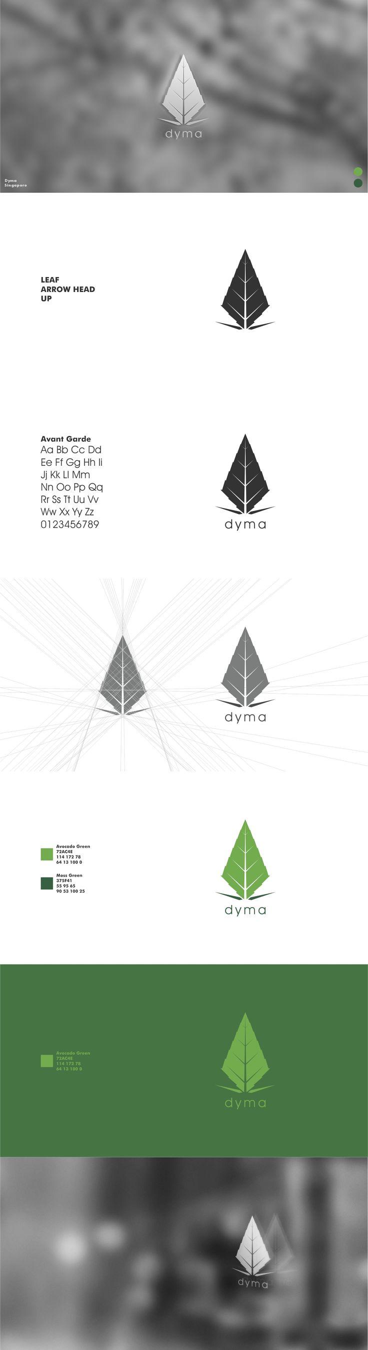 Dyma - Visual Identity #visual #identity #visualidentity #logo #graphic #design #graphicdesign #digitalart #presentation #portfolio