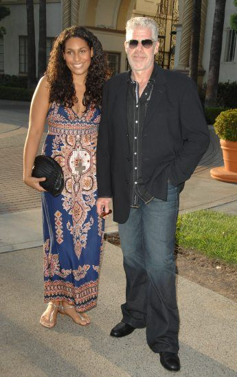 Ron Perlman with his daughter, Blake Perlman