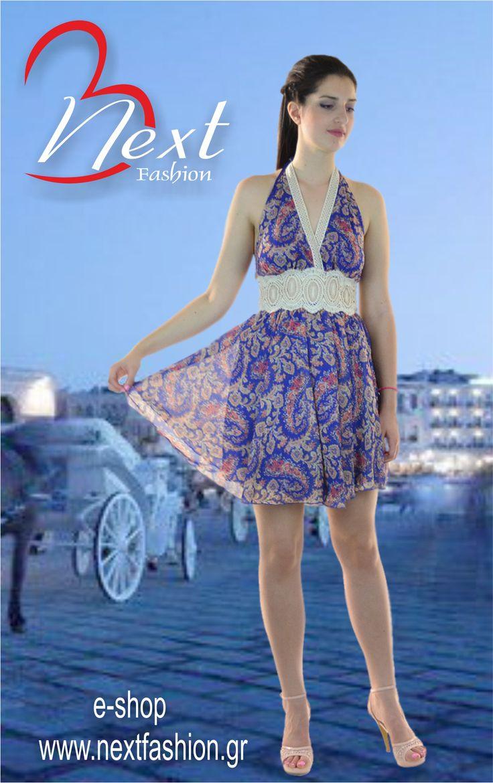 <3 <3 Φόρεμα Μίνι Εμπριμέ με Δαντέλα!! <3 <3  Βρείτε το ΕΔΩ: http://next-fashion.gr/-foremata-/484--forema-bsb-mini-ebrime-dantela-.html