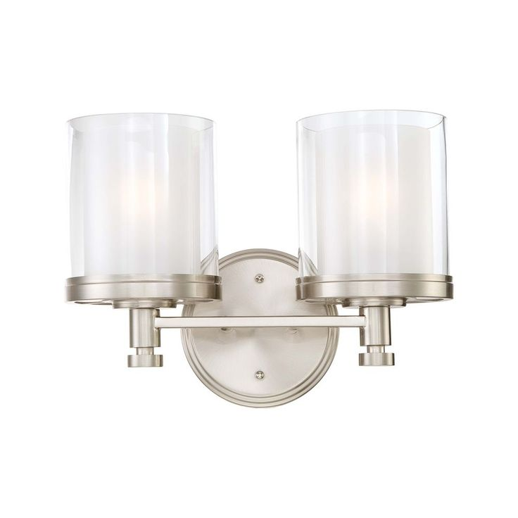 Bathroom Lighting Fixtures Brushed Nickel 100+ ideas bathroom lighting brushed brushed nickel finish on