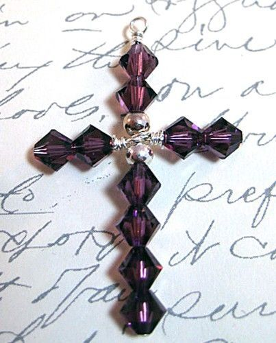 Video tutorial...how to make a crystal cross.