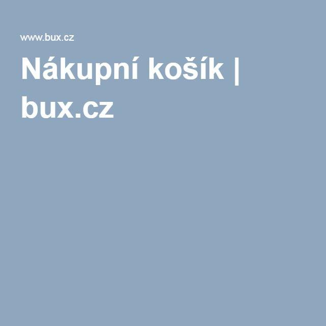 Nákupní košík | bux.cz
