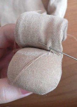 TUTORIAL - Waldorf doll how to make