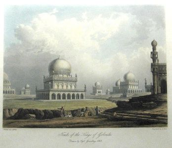 Tombs of the Kings of Golconda | Sanders of Oxford