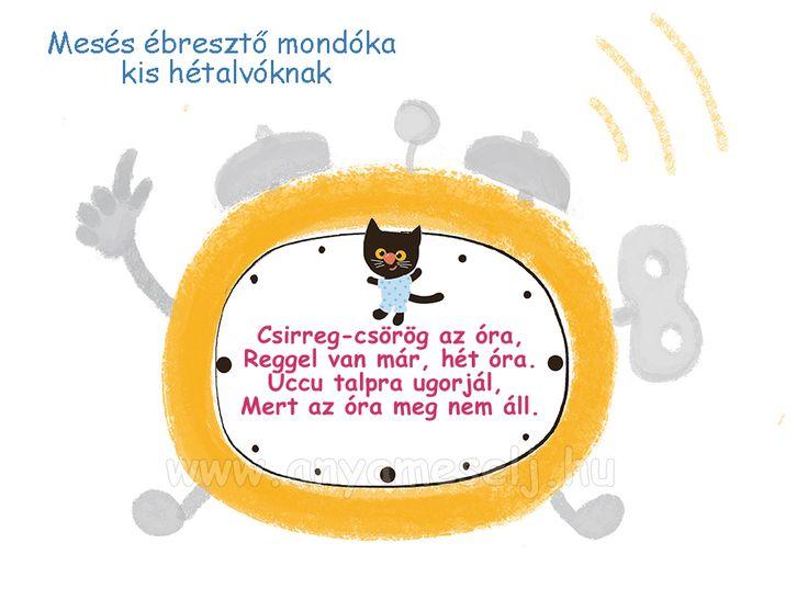 Ébresztő mondóka Hermann Marika tollából :)