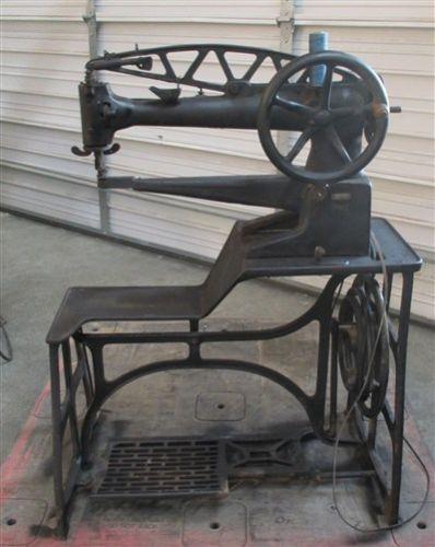 Adler 40 40 Long Arm Sewing Machine Leather Shoe Cobbler Cast Iron Cool Cobbler Sewing Machine