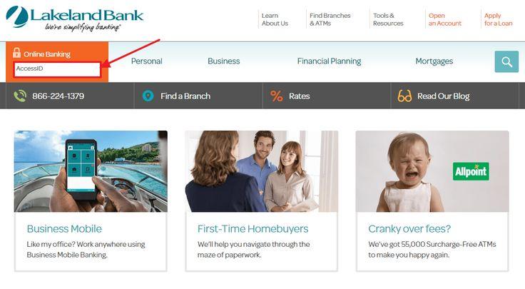 Lakeland Bank Online Banking SignIn Bank Online