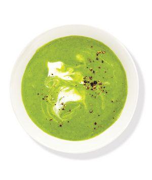 Creamy Broccoli and Spinach Soup Recipe