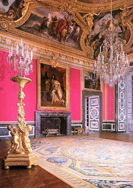 Versailles Brightly Colored Room