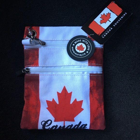 NwT Canada Souvenir Bag Brand new. Not really coach Coach Bags Mini Bags