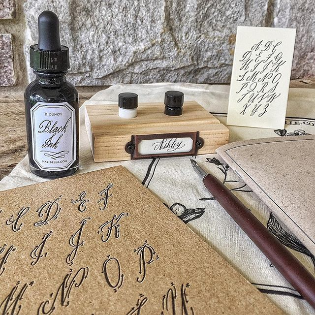 Learning Calligraphy Calligraphy 101 With Maybelle Imasa