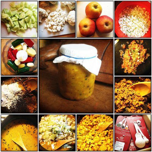 Recept om zelf piccalilly te maken
