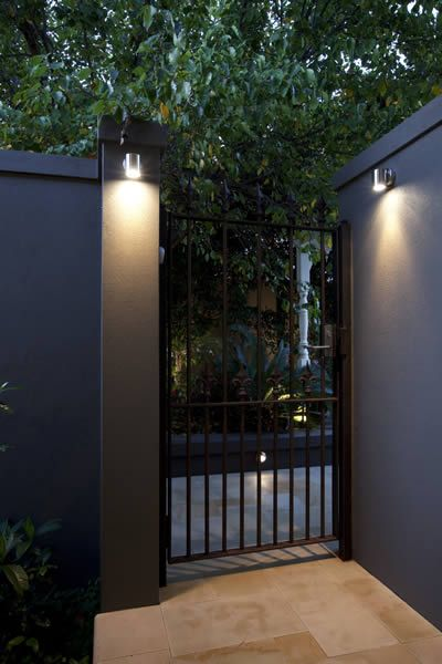 1000 Ideas About Fence Lighting On Pinterest Pathway