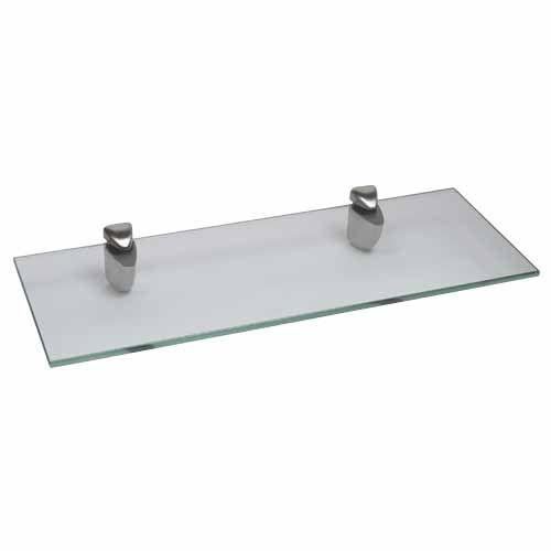 GLASS SHELVING KITS 400 x 150mm - Mitre 10