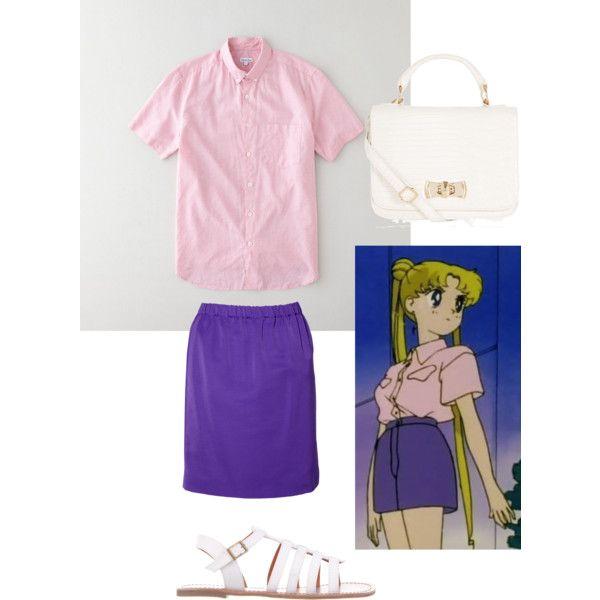 Serena Tsukino Sailor Moon inspired outfit