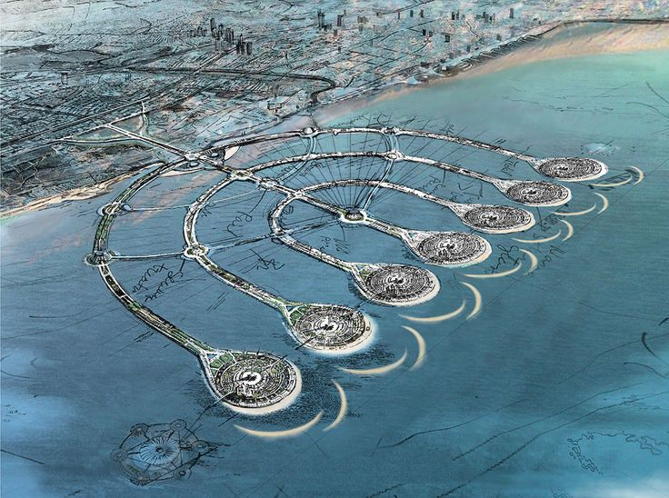 El Proyecto de las Islas Menorá es una idea de un complejo de nueve islas artificiales y varias calzadas en la costa de Israel.