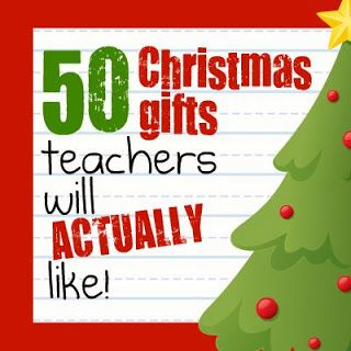 Teacher gifts theyll LOVE! Not just for Christmas but for end of the year or a birthday or anytime