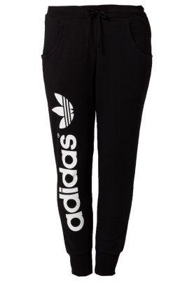 adidas Originals BAGGY - Tracksuit bottoms - black - Zalando.co.uk **