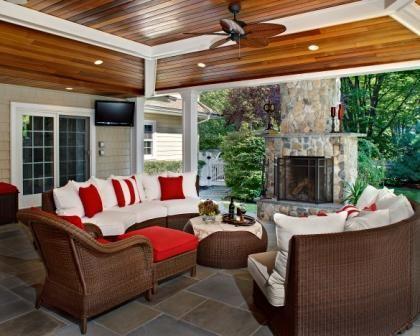 Backyard Hangout Space