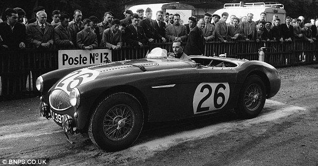 Heally at Le Mans 1955