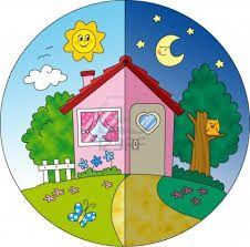 Resultado de imagen para casa dibujo a color