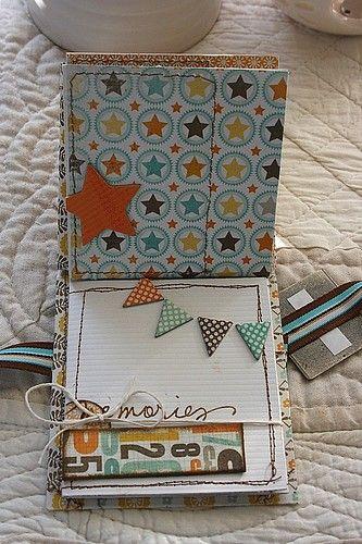 "Nice ""happy birthday"" minibook"