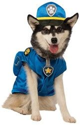 Paw Patrol Chase Dog Costume Small