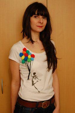 7 Ideas DIY Camisetas y accesorios con Pompones
