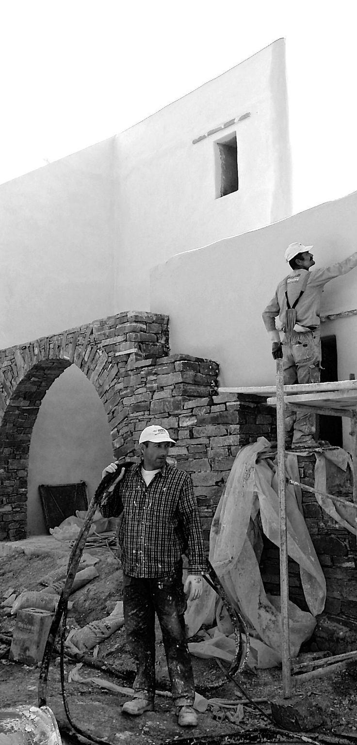 Plaster workers   OLYMPUS DIGITAL CAMERA
