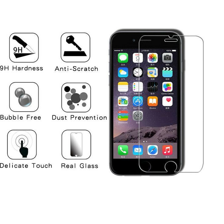 Premium Tempered Glass Protective Screen Iphone Protector Iphone