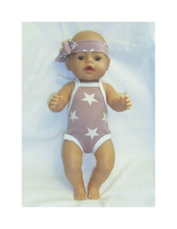 Dukkeklær til dukke 43cm,